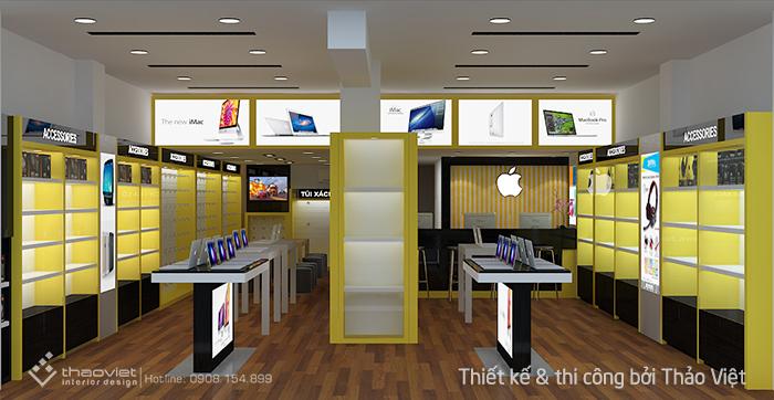 thiết kế shop 3d 3