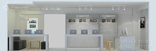 thiết kế thi cong nội thất shop ZShop 4