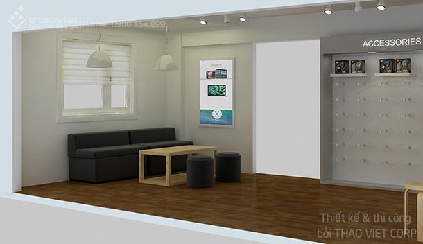 thiết kế thi cong nội thất shop ZShop 5