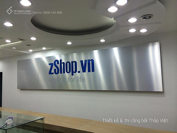 thiết kế thi cong nội thất shop ZShop 12