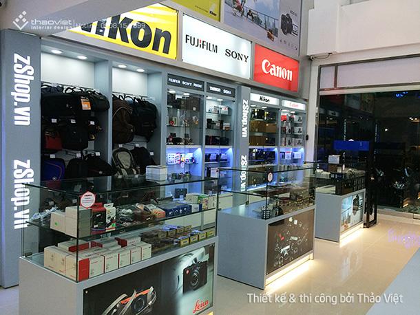 thiết kế thi cong nội thất shop ZShop 14