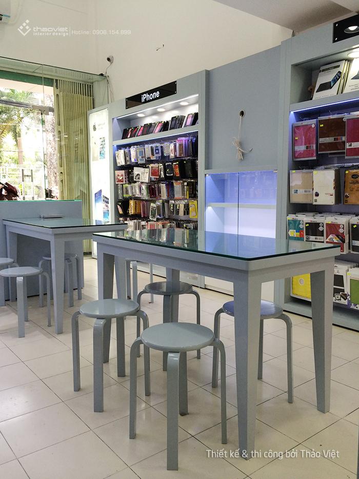 thiết kế thi công shop Chiêm Tài 16