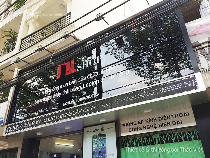 thi cong shop N1 9