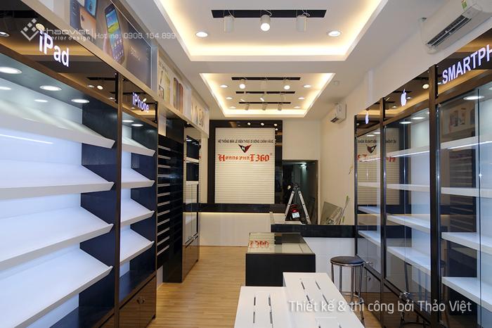 thiết kế nội thất shop hoang phat 8