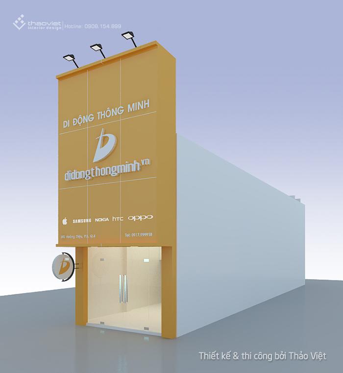 hình 3d shop di động thông minh 1