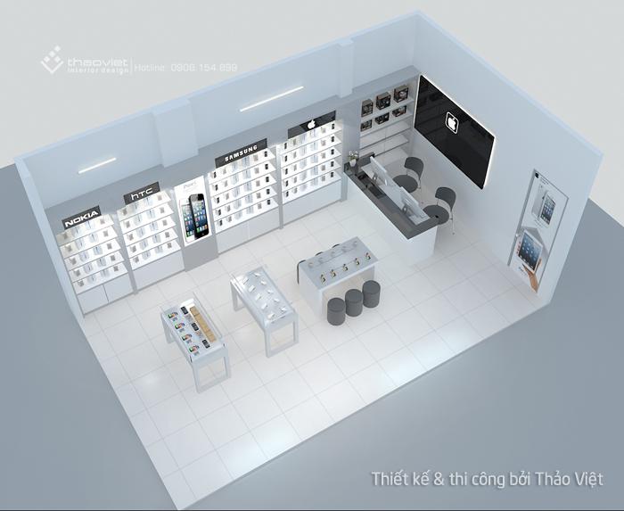 thiết kế shop điện thoại Thiên Duy 1