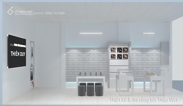 thiết kế shop điện thoại Thiên Duy 2