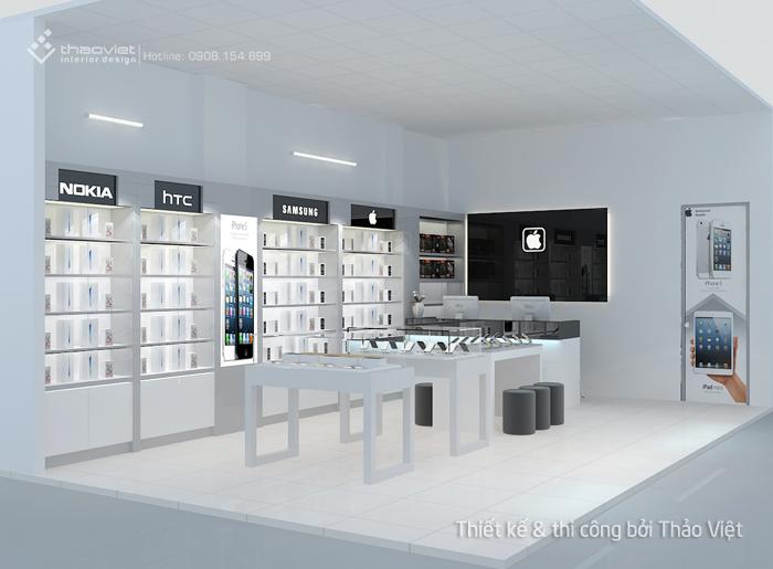 thiết kế shop điện thoại Thiên Duy 4