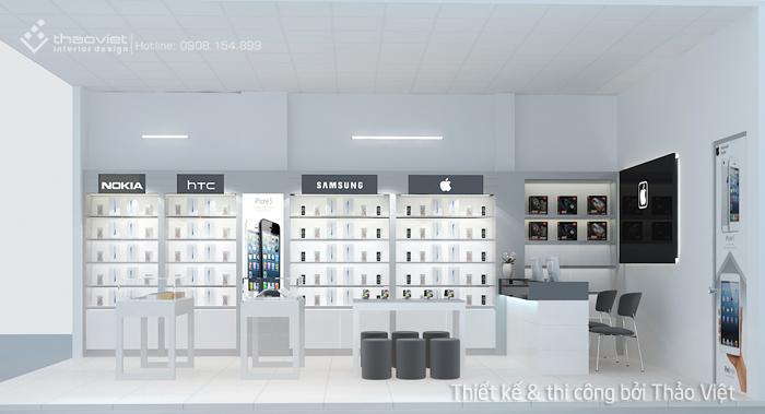 thiết kế shop điện thoại Thiên Duy 3