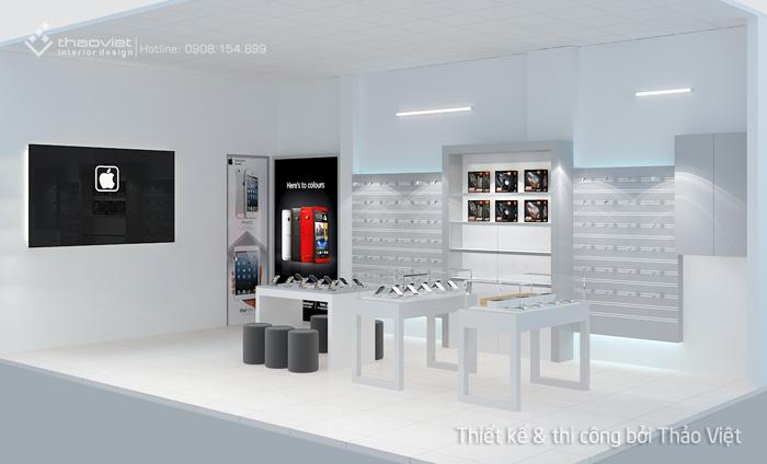 thiết kế shop điện thoại Thiên Duy 5