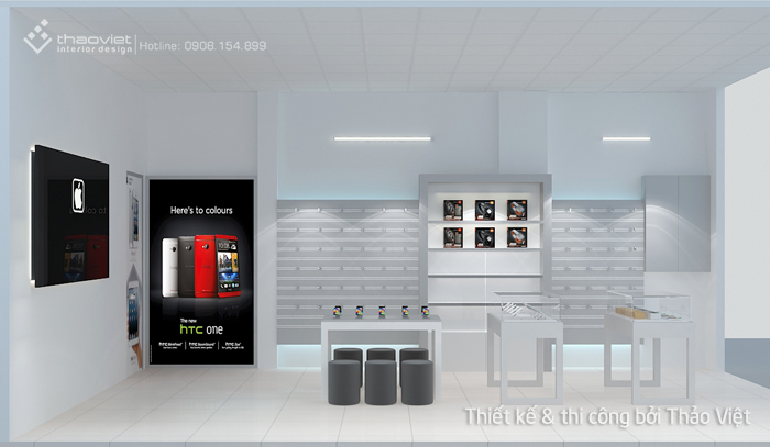 thiết kế shop điện thoại Thiên Duy 6