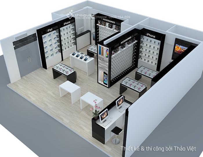 thiet ke thi cong shop H2Shop 6