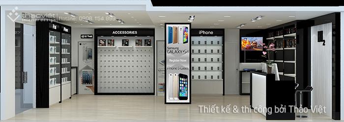 thiet ke thi cong shop H2Shop 1