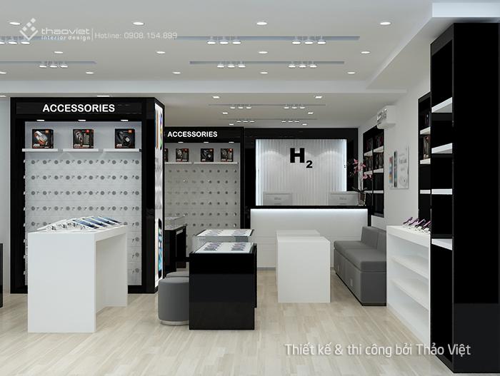 thiet ke thi cong shop H2Shop 2