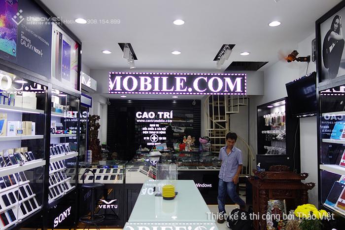 thiết kế thi công shop điện thoại Cao Trí  9