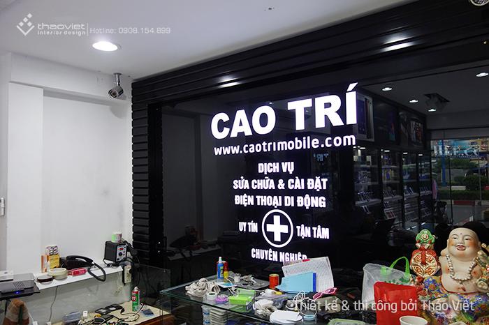 thiết kế thi công shop điện thoại Cao Trí  10