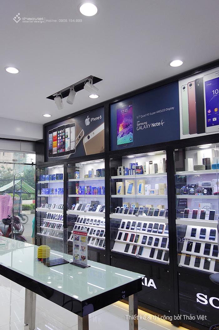 thiết kế thi công shop điện thoại Cao Trí  11