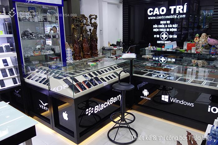 thiết kế thi công shop điện thoại Cao Trí  13