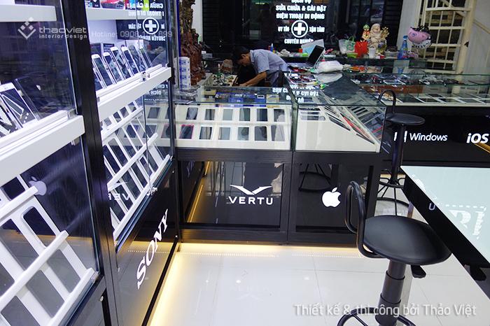 thiết kế thi công shop điện thoại Cao Trí  14
