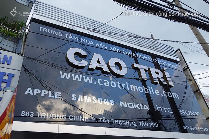 thiết kế thi công shop điện thoại Cao Trí  8