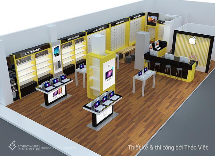thiết kế shop 3d