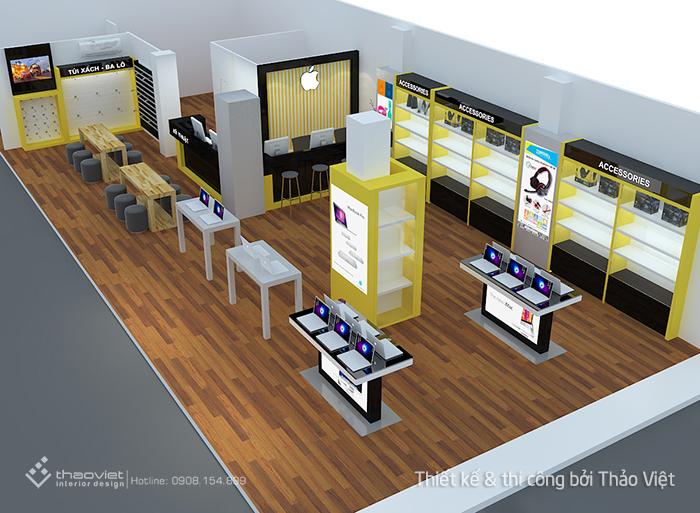 thiết kế shop 3d 1