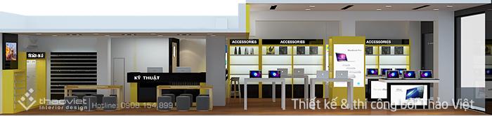 thiết kế shop 3d 2
