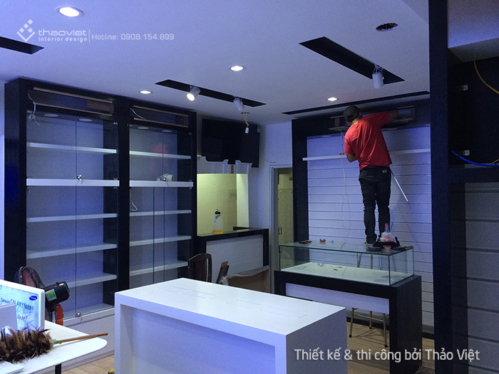 thiet ke thi cong shop H2Shop 9