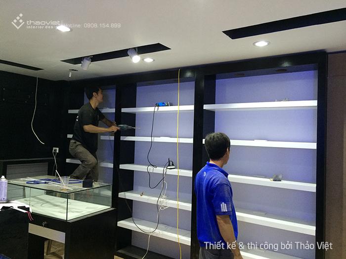 thiet ke thi cong shop H2Shop 11
