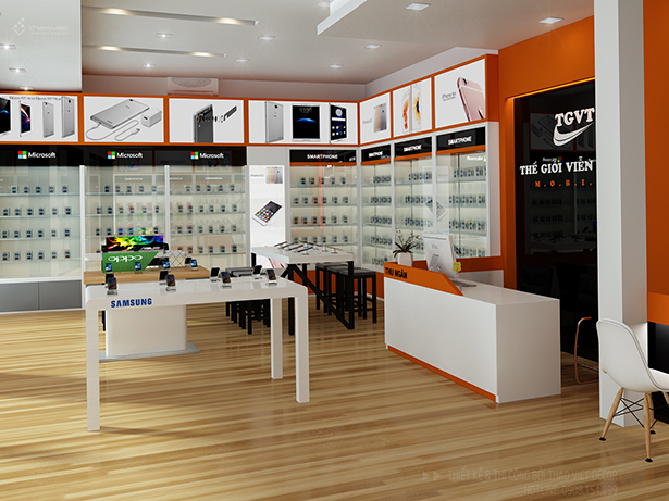 ảnh 3d shop thế giới phone 5