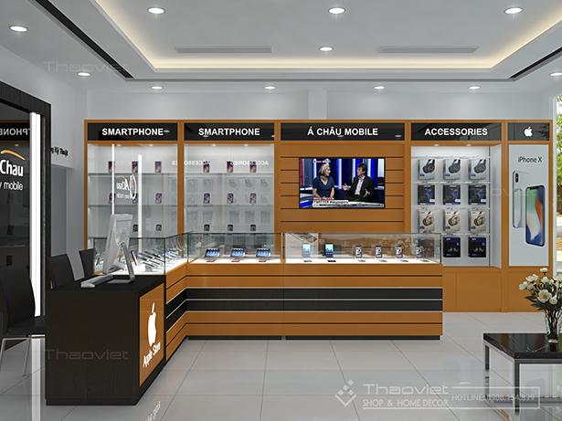 Thảo Việt cảm ơn khách hàng đã luôn tin tưởng và chọn Thảo Việt là đơn vị  thiết kế và thi công cho shop điện thoại, shop đồng hồ, showroom.