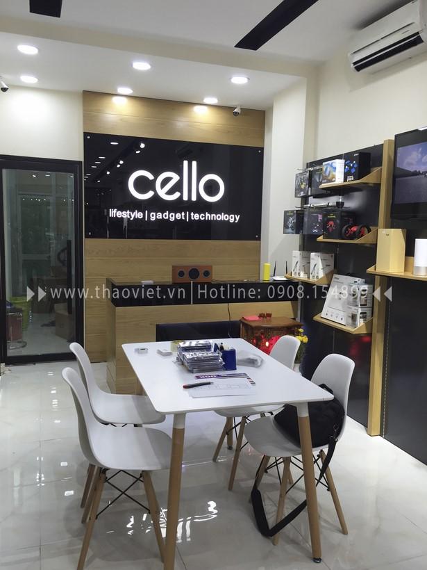 thi công shop CELLO