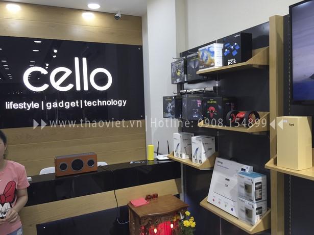 thi công shop CELLO 1