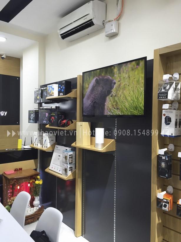 thi công shop CELLO 14