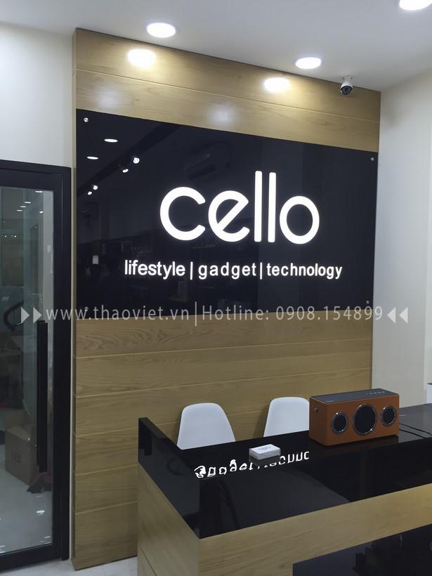 thi công shop CELLO 3