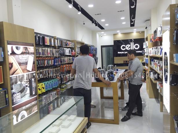 thi công shop CELLO 6