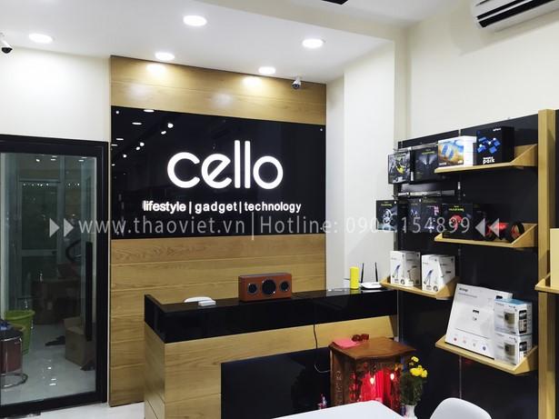 thi công shop CELLO 2