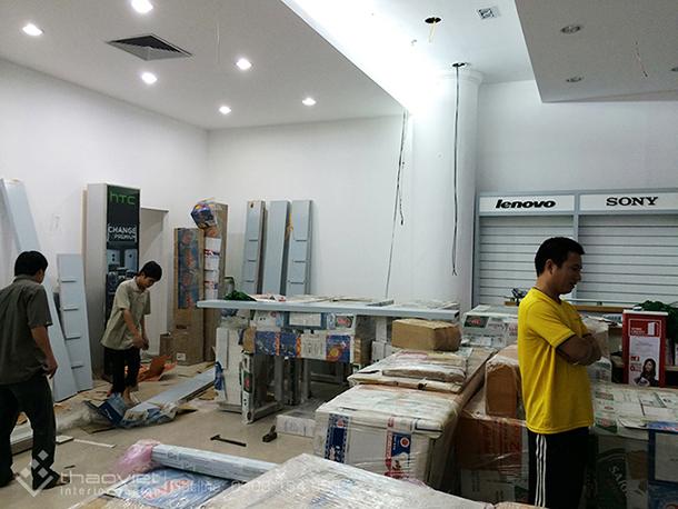 thi cong shop quang nokia 8