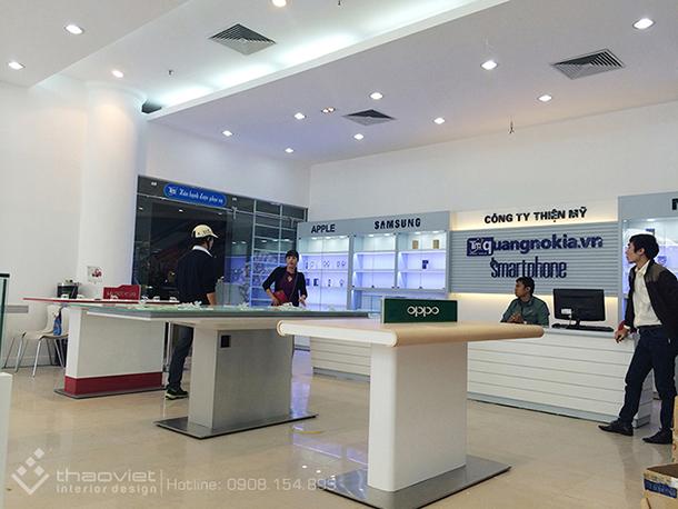 thi cong shop quang nokia 39