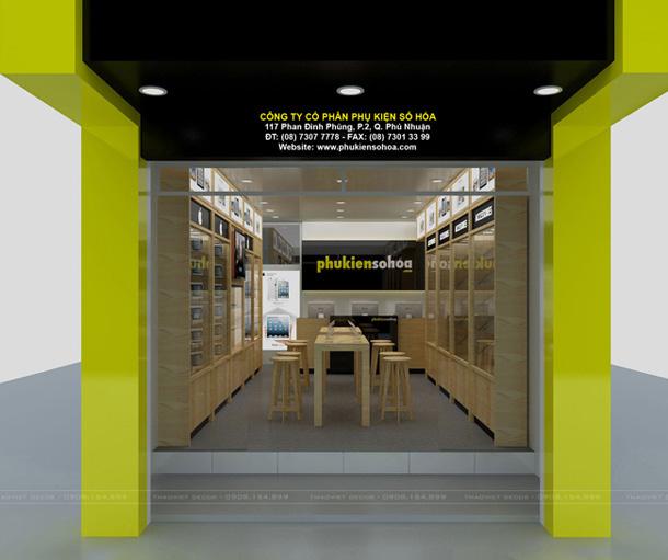 thiết kế shop 2