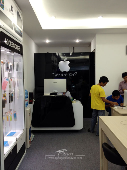 thiết kế shop