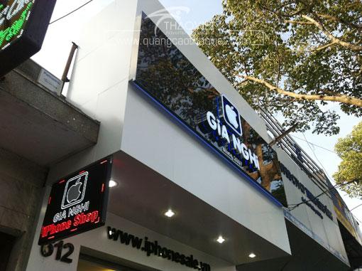 thiet ke thi cong shop Gia nghi 8