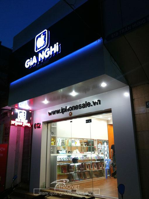 thiet ke thi cong shop Gia nghi 11