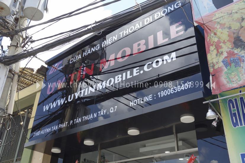 hình ảnh thực tế shop điện thoại Uy Tín